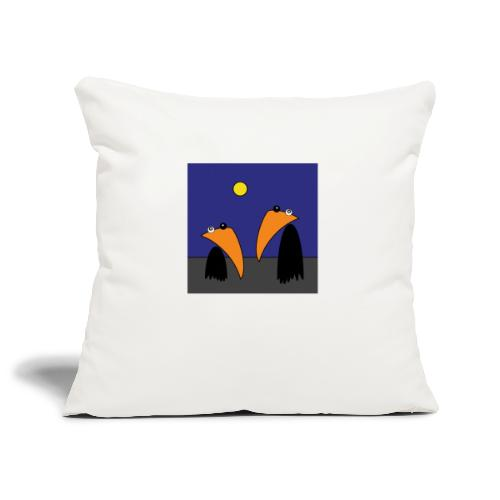 Raving Ravens - Halloween - Housse de coussin décorative 45x 45cm