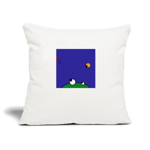 Hungry Frog - stork attack - Sofa pillowcase 17,3'' x 17,3'' (45 x 45 cm)