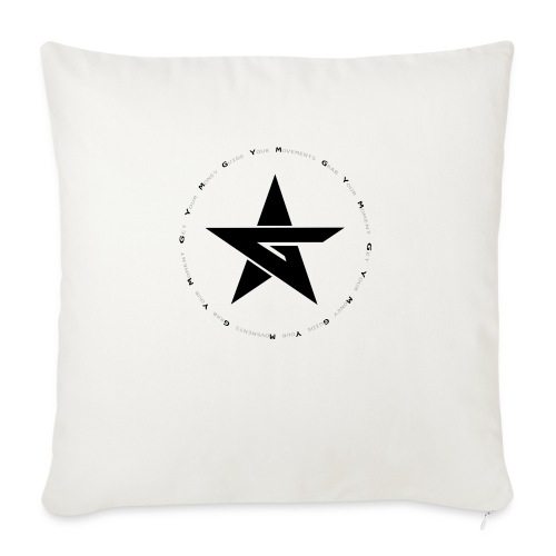 G Y M Time - Sofa pillowcase 17,3'' x 17,3'' (45 x 45 cm)