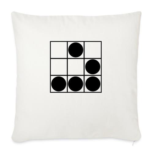 Glider-Badge (small) - Sofa pillowcase 17,3'' x 17,3'' (45 x 45 cm)