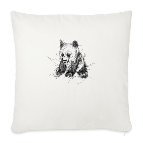 Scribblepanda - Sofa pillowcase 17,3'' x 17,3'' (45 x 45 cm)
