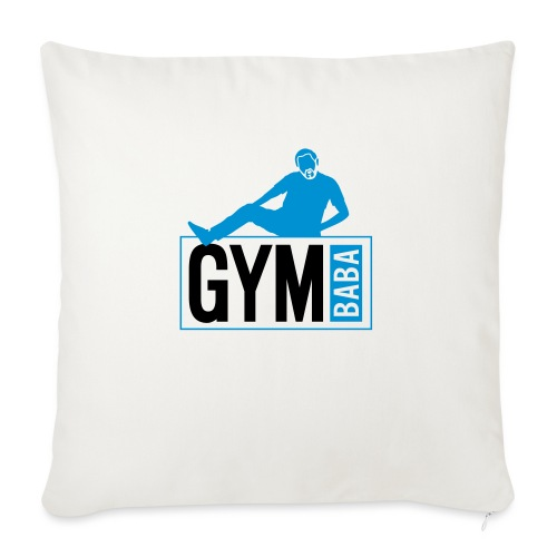 Gym baba 2 2c - Housse de coussin décorative 45x 45cm