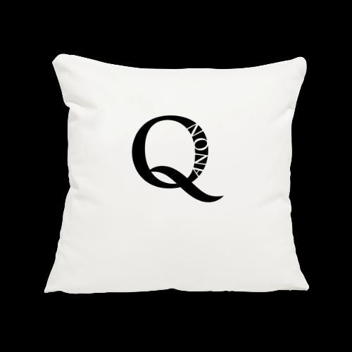 Q Anon Q-Anon Original Logo - Sofakissenbezug 44 x 44 cm