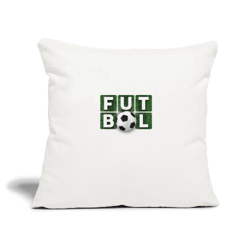 Futbol - Funda de cojín, 45 x 45 cm