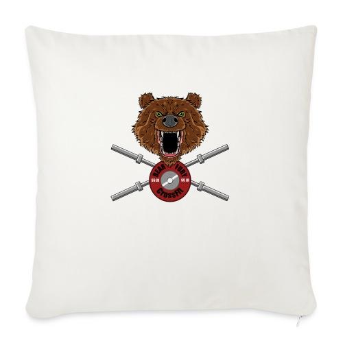 Bear Fury Crossfit - Housse de coussin décorative 45x 45cm