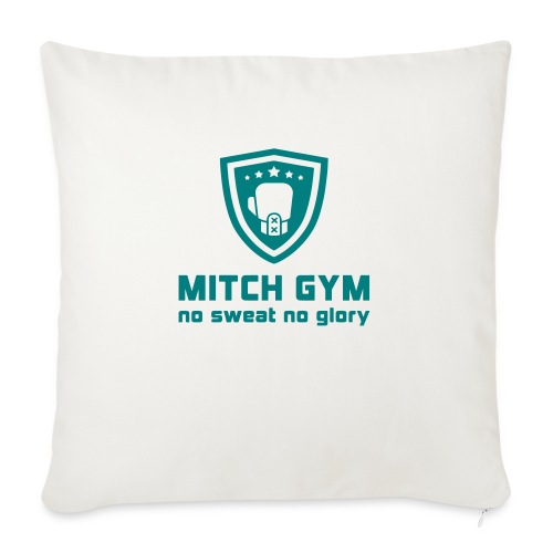 Logo_Mitch_Gym edit - Sierkussenhoes, 45 x 45 cm