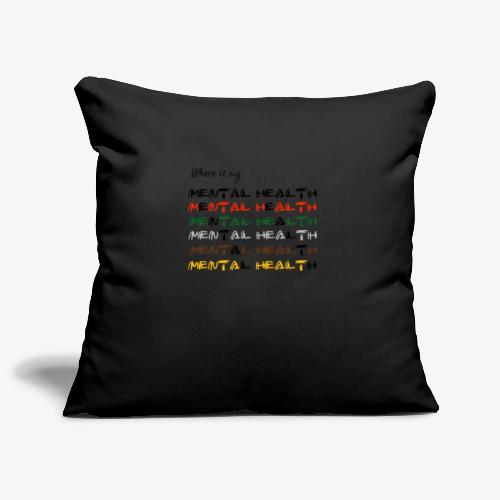 Where is my...? - Sofa pillowcase 17,3'' x 17,3'' (45 x 45 cm)
