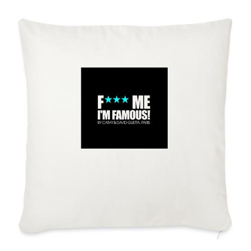 FMIF Badge - Housse de coussin décorative 45x 45cm