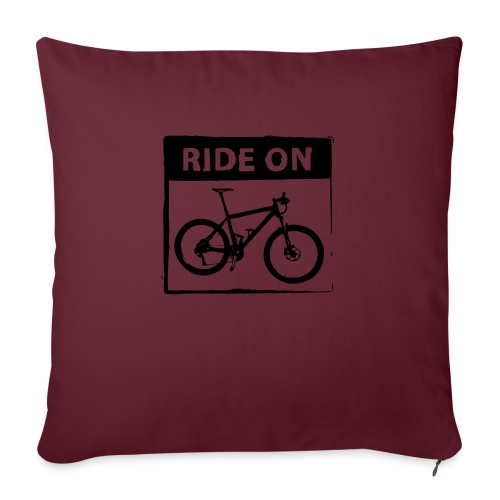 Ride On MTB 1 Color - Sofakissenbezug 44 x 44 cm