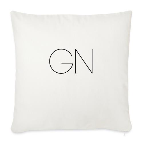 Långärmad tröja GN slim text - Soffkuddsöverdrag, 45 x 45 cm