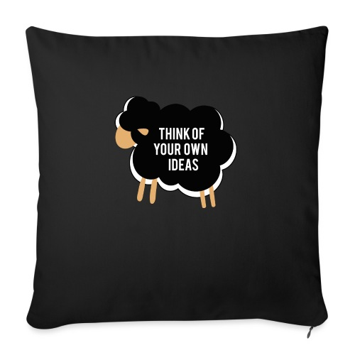 Think of your own idea! - Sofa pillowcase 17,3'' x 17,3'' (45 x 45 cm)