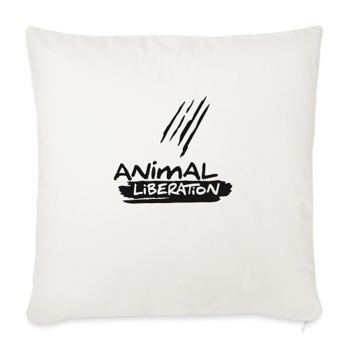 animalliberation01o_225x225 - Sofakissenbezug 44 x 44 cm
