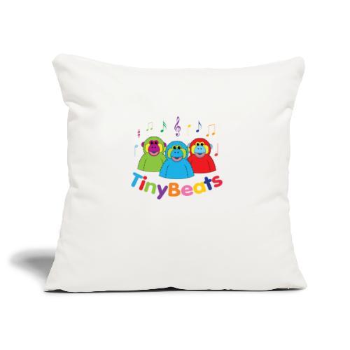 TinyBeats - Sofa pillowcase 17,3'' x 17,3'' (45 x 45 cm)