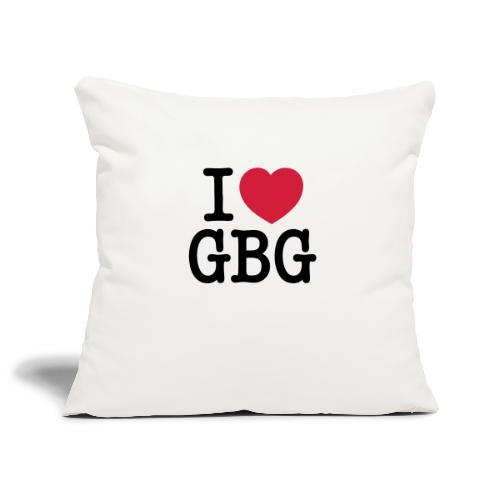 I love GBG - Soffkuddsöverdrag, 45 x 45 cm