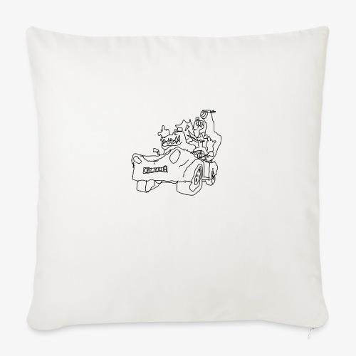 gova dinos - Housse de coussin décorative 45x 45cm
