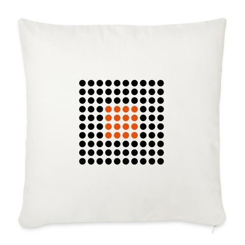 Square Dots - Funda de cojín, 45 x 45 cm