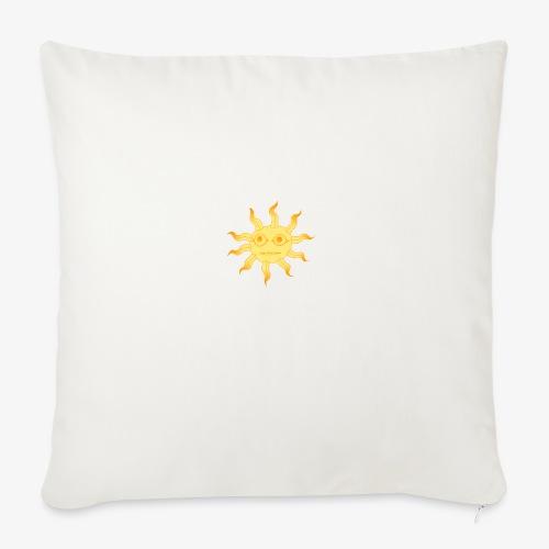 soleil - Housse de coussin décorative 45x 45cm