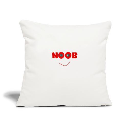 NOOB - Housse de coussin décorative 45x 45cm