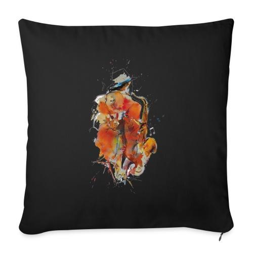 Jazz men - Housse de coussin décorative 45x 45cm
