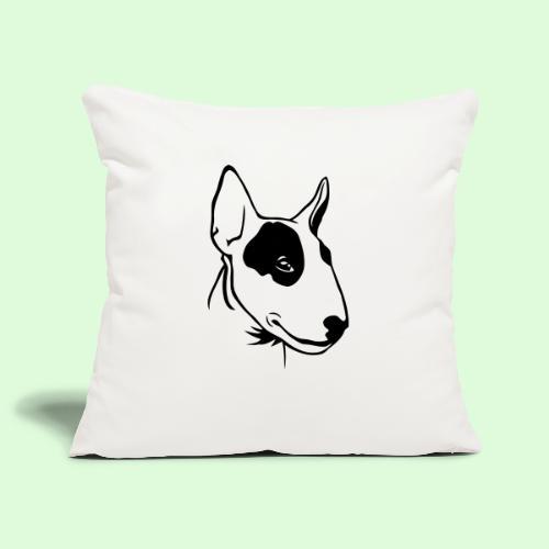Bull Terrier - Housse de coussin décorative 45x 45cm