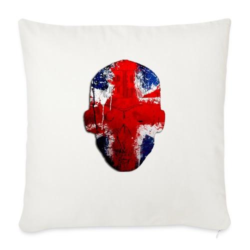 Borg recordings uk Union flag MetaSkull T Shirt - Sofa pillowcase 17,3'' x 17,3'' (45 x 45 cm)