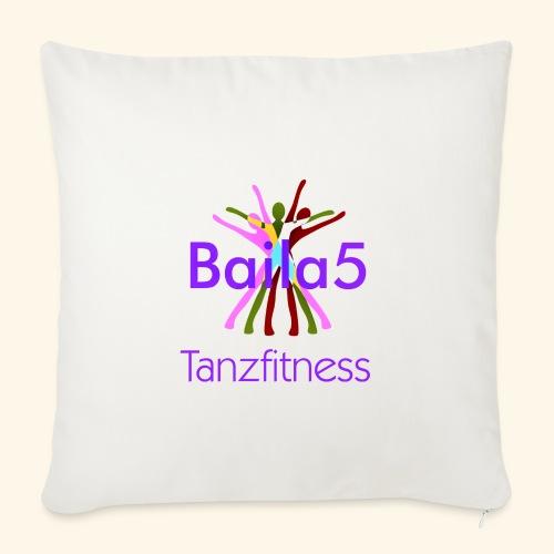 Baila5 Tanzfitness violet - Sofakissenbezug 44 x 44 cm