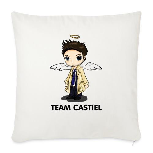 Team Castiel (light) - Sofa pillowcase 17,3'' x 17,3'' (45 x 45 cm)