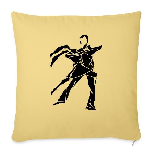 dancesilhouette - Sofa pillowcase 17,3'' x 17,3'' (45 x 45 cm)