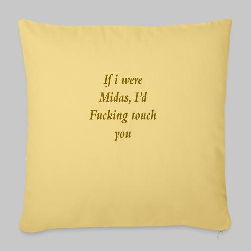 I hate you, basically. - Sofa pillowcase 17,3'' x 17,3'' (45 x 45 cm)