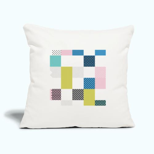 Abstract art squares - Sofa pillowcase 17,3'' x 17,3'' (45 x 45 cm)
