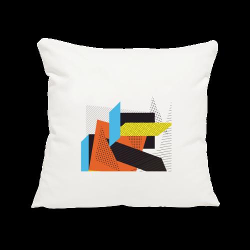 Vintage shapes abstract - Sofa pillowcase 17,3'' x 17,3'' (45 x 45 cm)