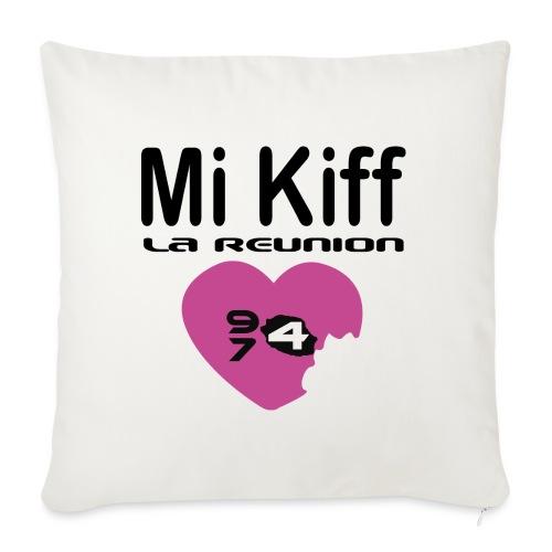 Mi Kiff la reunion - Housse de coussin décorative 45x 45cm