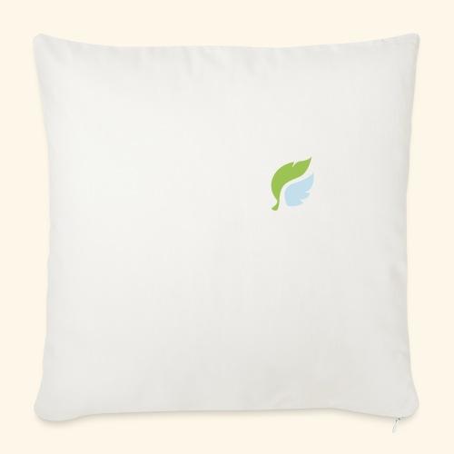 Akan White - Soffkuddsöverdrag, 45 x 45 cm