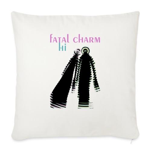 fatal charm - hi album cover art - Sofa pillowcase 17,3'' x 17,3'' (45 x 45 cm)