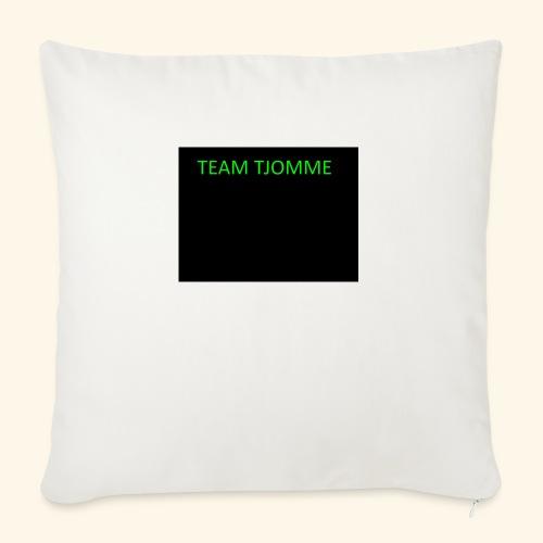 TJOMME logga - Soffkuddsöverdrag, 45 x 45 cm