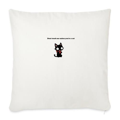 Imnotacat Tshirt - Soffkuddsöverdrag, 45 x 45 cm