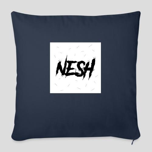 Nesh Logo - Sofakissenbezug 44 x 44 cm