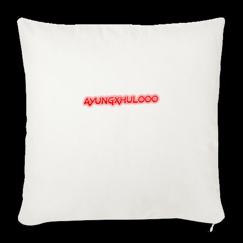 AYungXhulooo - Neon Redd - Sofa pillowcase 17,3'' x 17,3'' (45 x 45 cm)