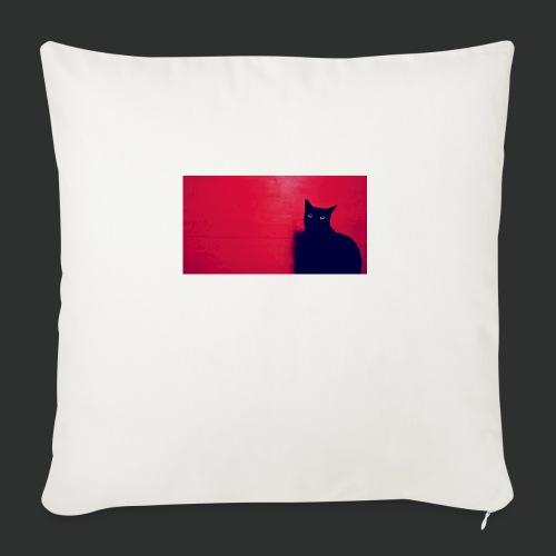 Blackcat - Copricuscino per divano, 45 x 45 cm