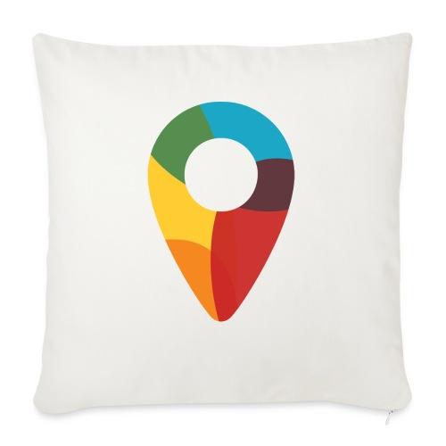 FoundedX monogram png - Sofa pillowcase 17,3'' x 17,3'' (45 x 45 cm)