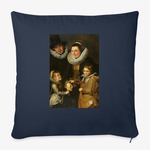 familie-engels2-canvas - Sierkussenhoes, 45 x 45 cm