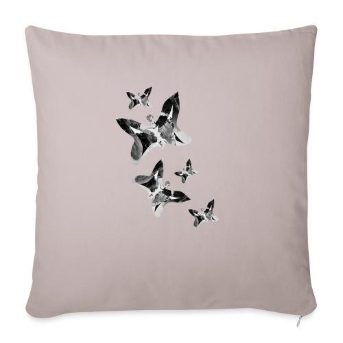 Schmetterlinge - Sofakissenbezug 44 x 44 cm