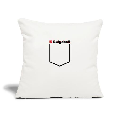 BULGEBULL-POCKET2 - Sofa pillowcase 17,3'' x 17,3'' (45 x 45 cm)