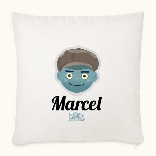 Marcel (Le monde des Pawns) - Housse de coussin décorative 45x 45cm