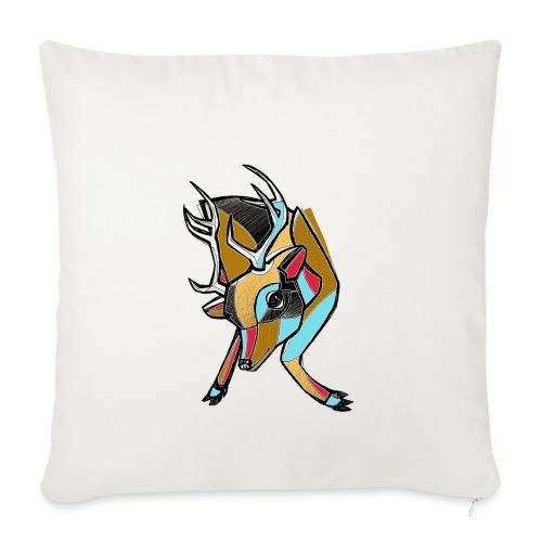 Deer - Copricuscino per divano, 45 x 45 cm