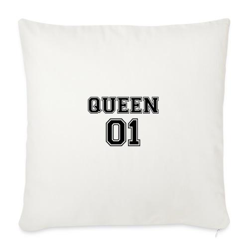 Queen 01 - Housse de coussin décorative 45x 45cm