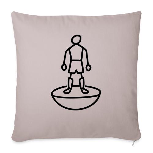 Table Football Stick Man - Sofa pillowcase 17,3'' x 17,3'' (45 x 45 cm)