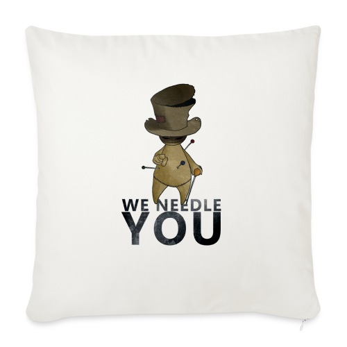 WE NEEDLE YOU - Housse de coussin décorative 45 x 45 cm