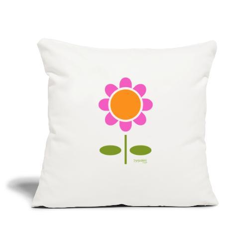 Retro flower - Sohvatyynyn päällinen 45 x 45 cm