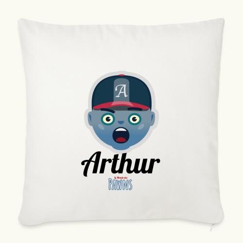 Arthur (Le monde des Pawns) - Housse de coussin décorative 45x 45cm